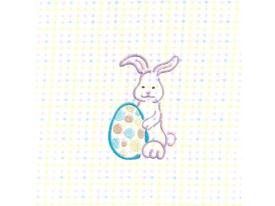 Easter Outlines Machine Embroidery Designs