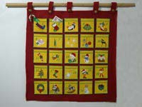 Advent Calendar Machine Embroidery Designs