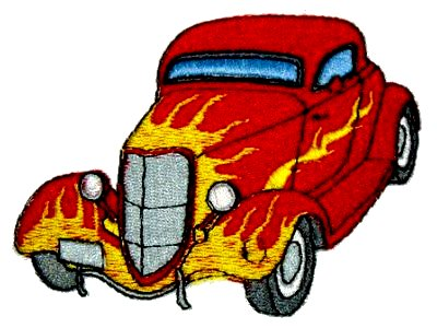 American Hot Rods Machine Embroidery Designs