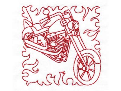 American Rider Blocks Machine Embroidery Designs