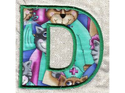 ALPHABET APPLIQUE PATTERN « FREE Knitting PATTERNS