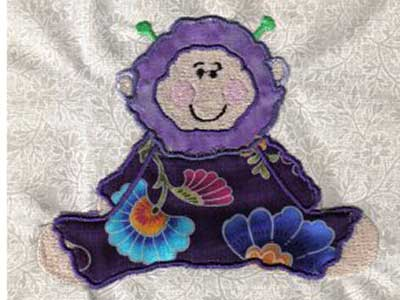 Applique Babys First Halloween Machine Embroidery Designs