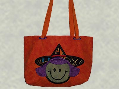 Applique Halloween Treat Bags Machine Embroidery Designs
