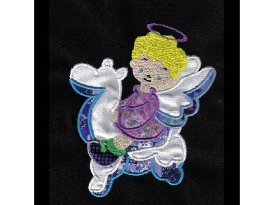 Applique Baby Angels