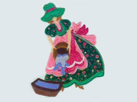 Country Girls Machine Embroidery Designs