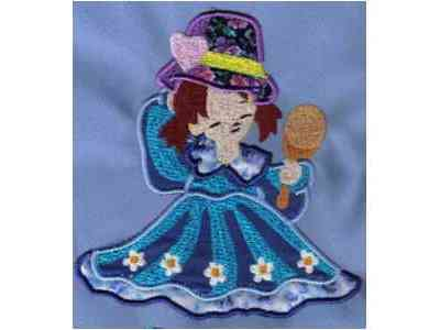 Applique When I Grow Up Machine Embroidery Designs