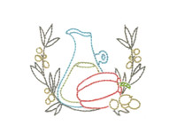 A Touch of Flavor Machine Embroidery Designs
