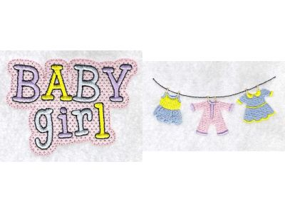 Babies Embroidery Machine Design