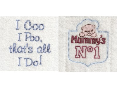 Baby Bibs Things Machine Embroidery Designs