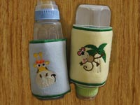 Baby Bottle Wraps Machine Embroidery Designs