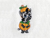 Baby Zoo Pumpkins Machine Embroidery Designs
