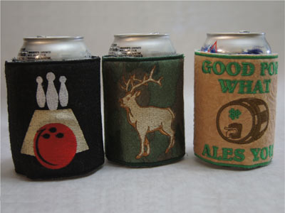 Beverage Wraps Machine Embroidery Designs