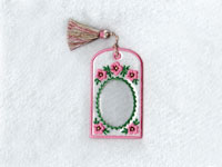 Bookmark Picture Frames Machine Embroidery Designs