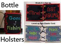 Bottle Holster Machine Embroidery Designs