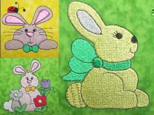 Bunny Tales Machine Embroidery Designs