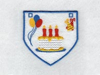 Birthday Buntings Machine Embroidery Designs