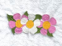 Burst of Spring Windsock Machine Embroidery Designs