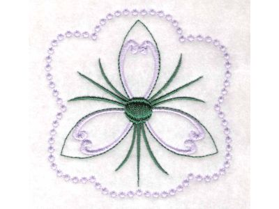 CANDLEWICKING EMBROIDERY PATTERN
