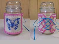 Candle Wraps Machine Embroidery Designs