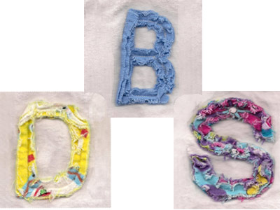 Chenille Font Machine Embroidery Designs