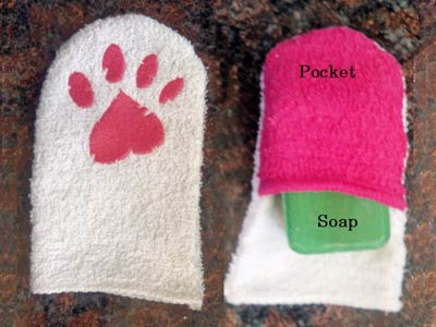 Childs Wash Mitt Machine Embroidery Designs