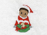Christmas Babies Machine Embroidery Designs