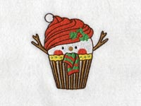 Christmas Cupcakes Machine Embroidery Designs