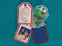 ITH Christmas Tag Alpha Machine Embroidery Designs
