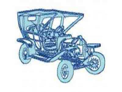 DD Classic Cars Machine Embroidery Designs