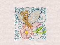Curly Spring Blocks Machine Embroidery Designs