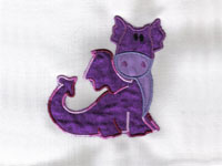 Cute Dragons Machine Embroidery Designs