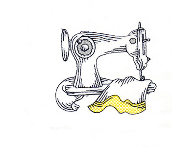 Colorwork Sewing Machine Embroidery Designs