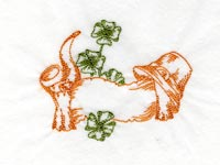 Colorwork St Patricks Day Machine Embroidery Designs