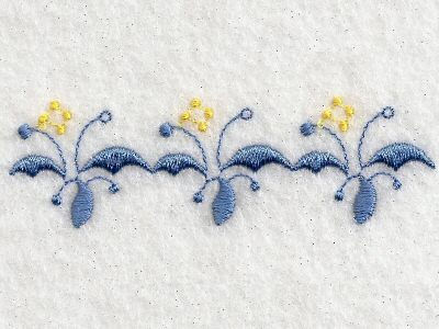 Delicate Florals Machine Embroidery Designs