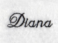 Diana Font Machine Embroidery Designs
