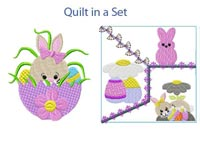Easter Delight Machine Embroidery Designs