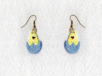 FSL Easter Earrings Machine Embroidery Designs