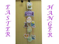 Easter Hangers Machine Embroidery Designs