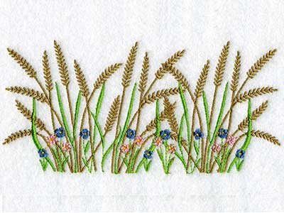 Bottom Edge Borders Machine Embroidery Designs
