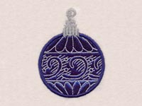 Elegant Christmas Ornaments Machine Embroidery Designs