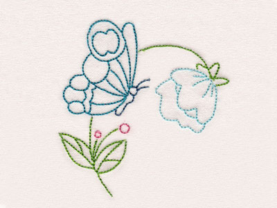 Fantastic Garden Colorlines Machine Embroidery Designs