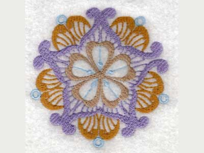 Fantasy Ornaments Embroidery Machine Design