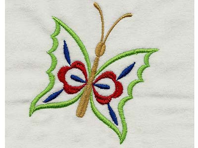 Fluttery Butterflies 1 Machine Embroidery Designs