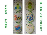 Frog Pond Wind Catchers Machine Embroidery Designs