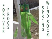 Frog Wind Sock Machine Embroidery Designs