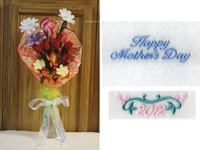 FSL Bouquet Machine Embroidery Designs