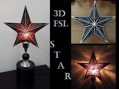 FSL Star Lamp or Tree Topper