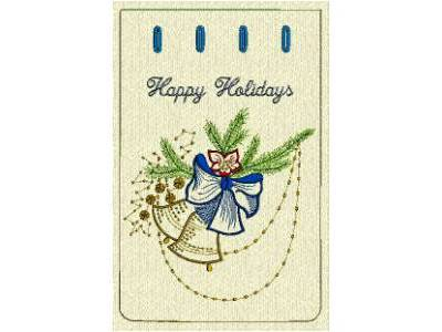 Christmas Gift Bags 3 Embroidery Machine Design