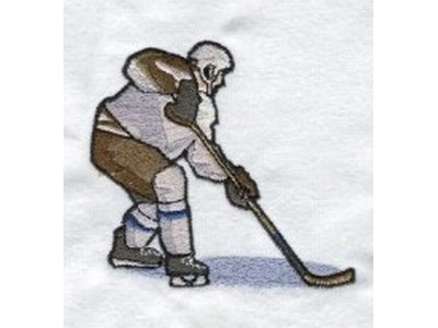 Hockey Players Machine Embroidery Designs