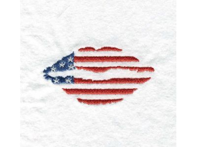 Independence Day Embroidery Machine Design